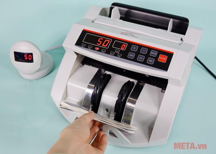 Khay chứa tiền máy đếm tiền thế hệ mới Silicon MC-2200