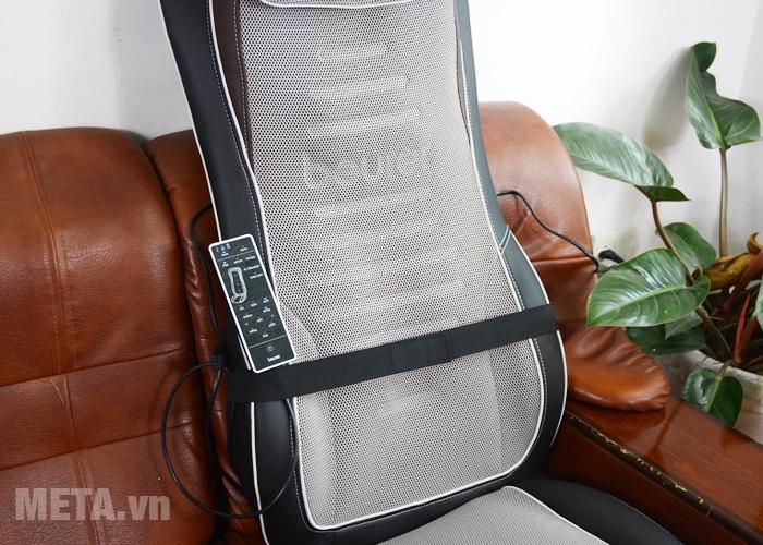 Đệm massage Beurer MG300 được bọc lớp đệm êm ái