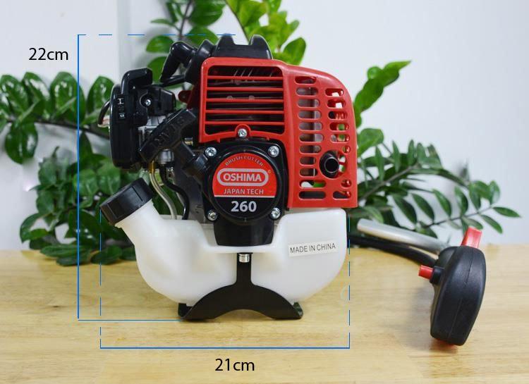 Kích thước động cơ máy cắt cỏ