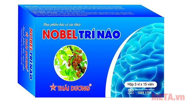 Hình ảnh Nobel trí não Thái Dương (Hộp 45 viên)