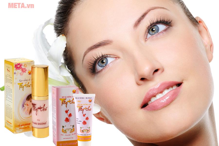 Combo Kem dưỡng da chống nám và mặt nạ dưỡng da Tây Thi