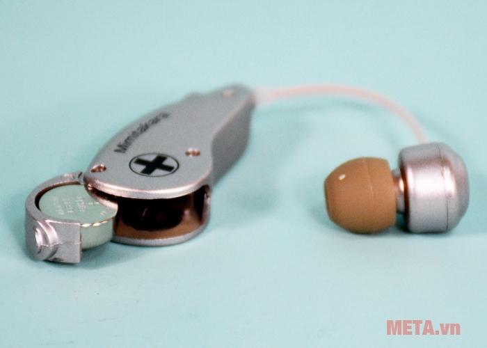 Khay chứa pin máy trợ thính không dây UP-6B51