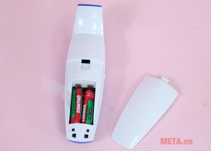 Nhiệt kế hồng ngoại Microlife FR 1DZ1 sử dụng pin 2 AAA