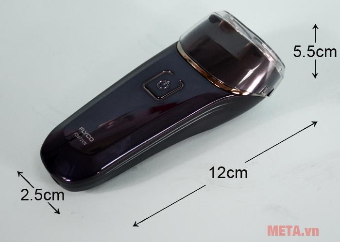 Kích thước máy cạo râu Flyco FS 872