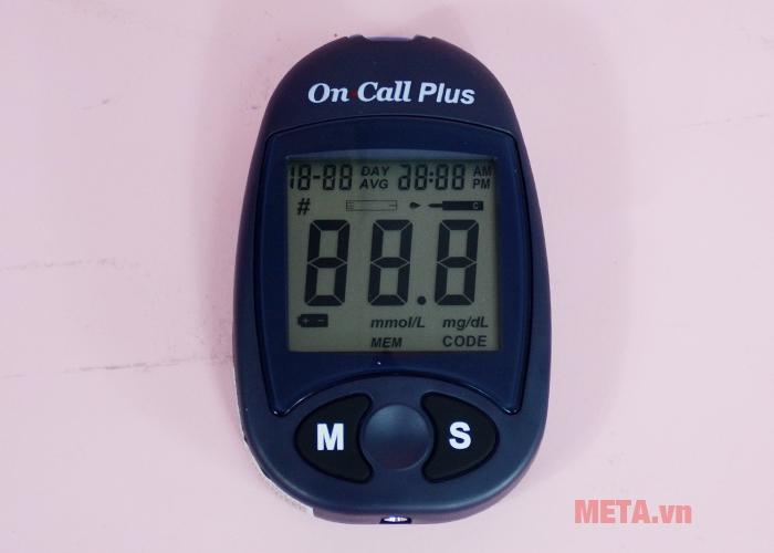 Hình ảnh máy đo đường huyết On Call Plus