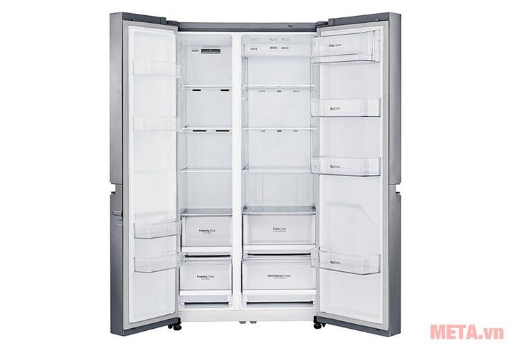Khay kính của tủ lạnh