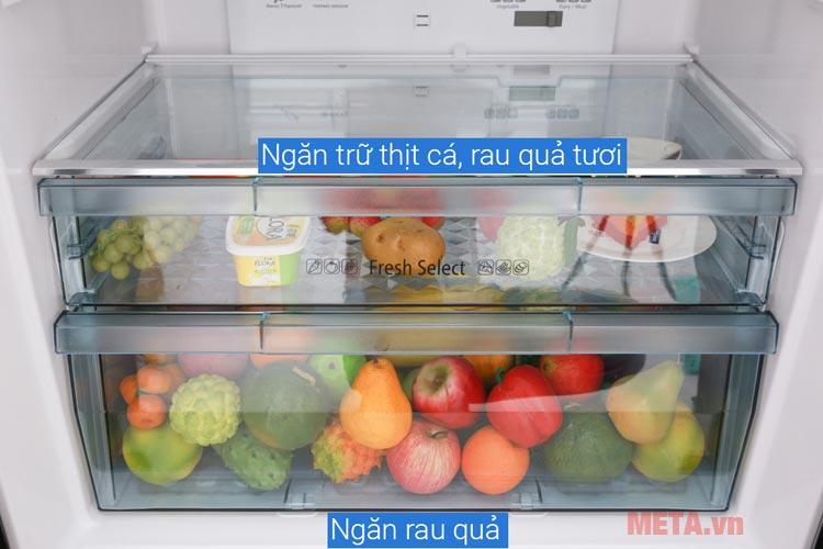 Ngăn rau quả của Tủ lạnh