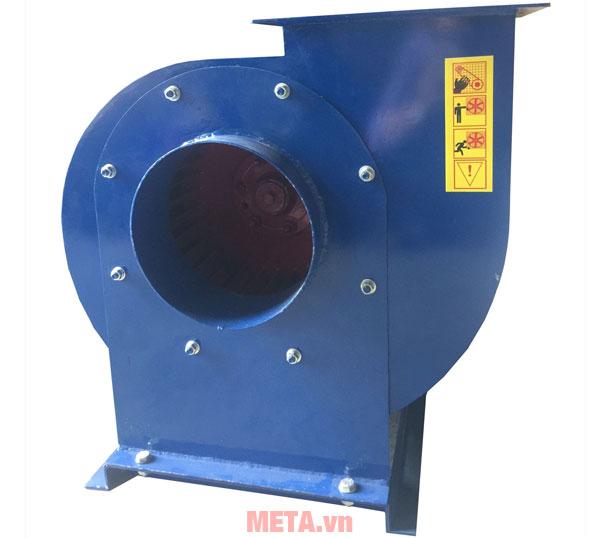 Quạt được làm từ chất liệu thép và inox CT3