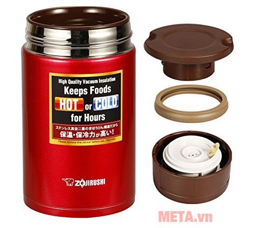 Nắp đậy của hộp đựng thực phẩm giữ nhiệt