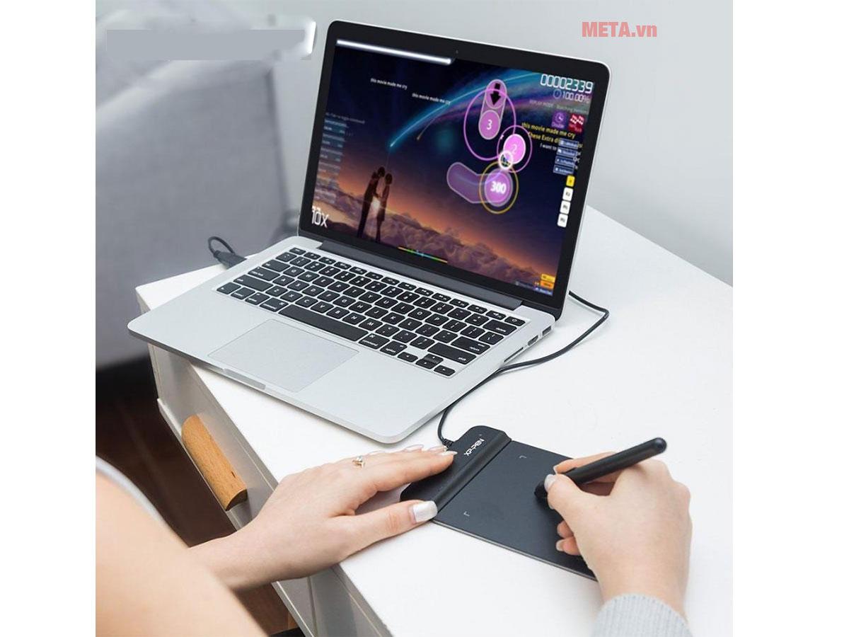 Bảng vẽ Star G630S tự động kết nối với máy tính