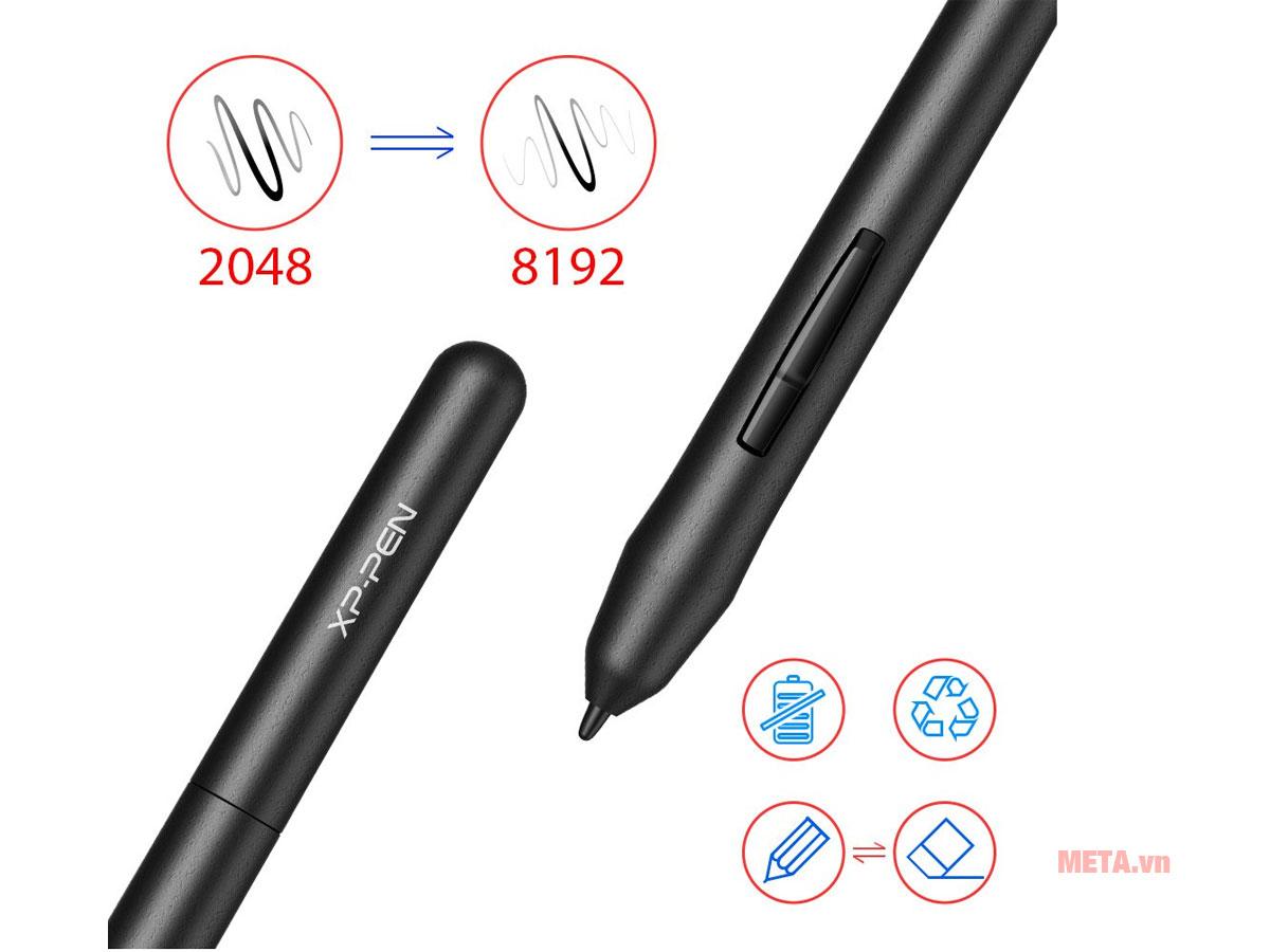 Lực nhấn 8192 lần của XP-Pen Star G430S giúp bạn thỏa sức với niềm đam mê