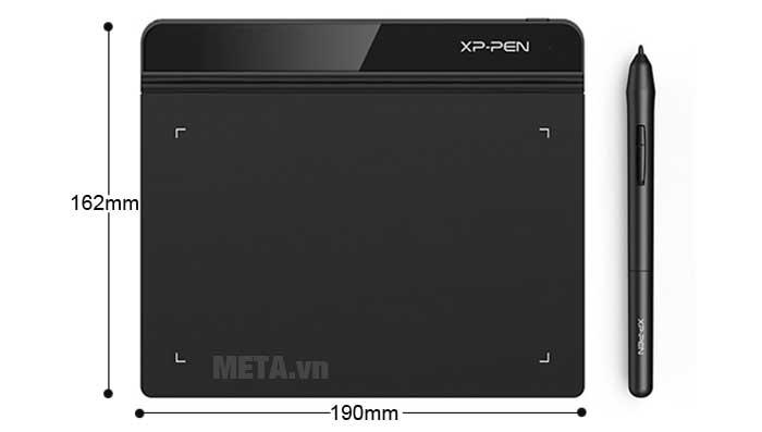 Kích thước bảng vẽ XP-Pen Star G640