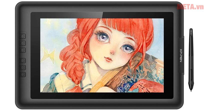 XP-Pen Artist 13.3 có độ phân giải cao, cho hình ảnh sắc nét