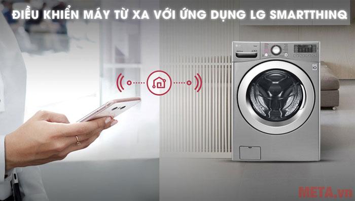 Bạn có thể dễ dàng điều khiển máy giặt trên chiếc điện thoại của mình
