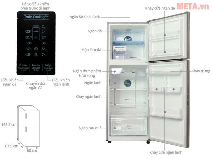 Tủ lạnh Samsung 1
