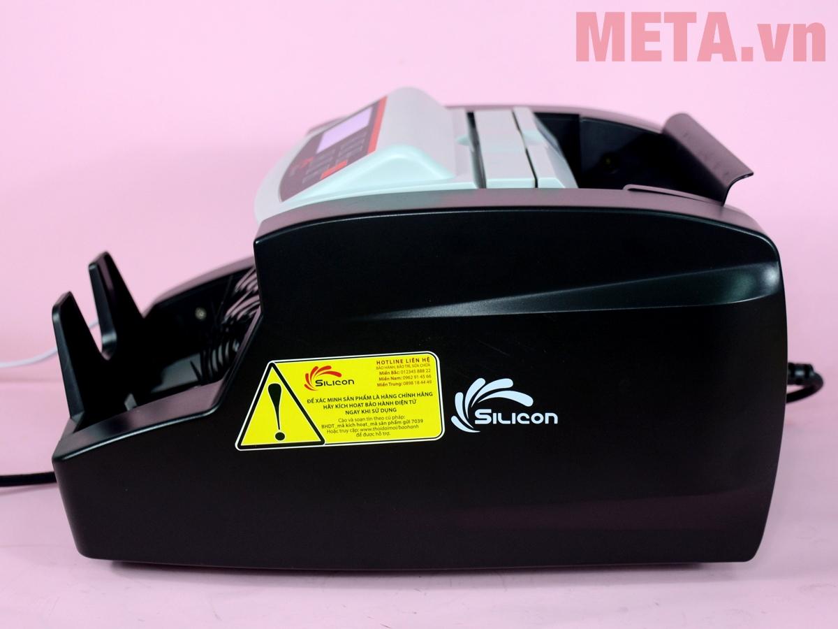 Máy đếm tiền Silicon MC-2700 hoạt động êm ái, tiếng ồn thấp