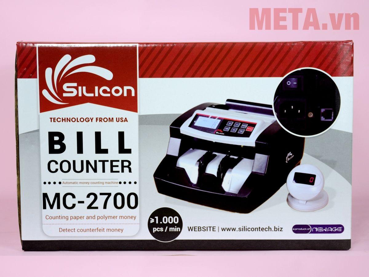 Hộp đựng máy đếm tiền Silicon MC-2700
