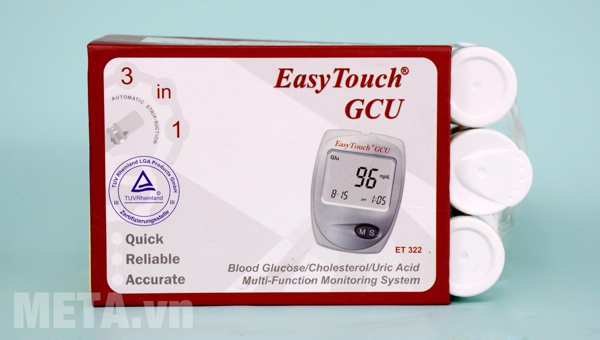 Hộp đựng máy đo tổng hợp Rossmax Easy Touch GCU ET322