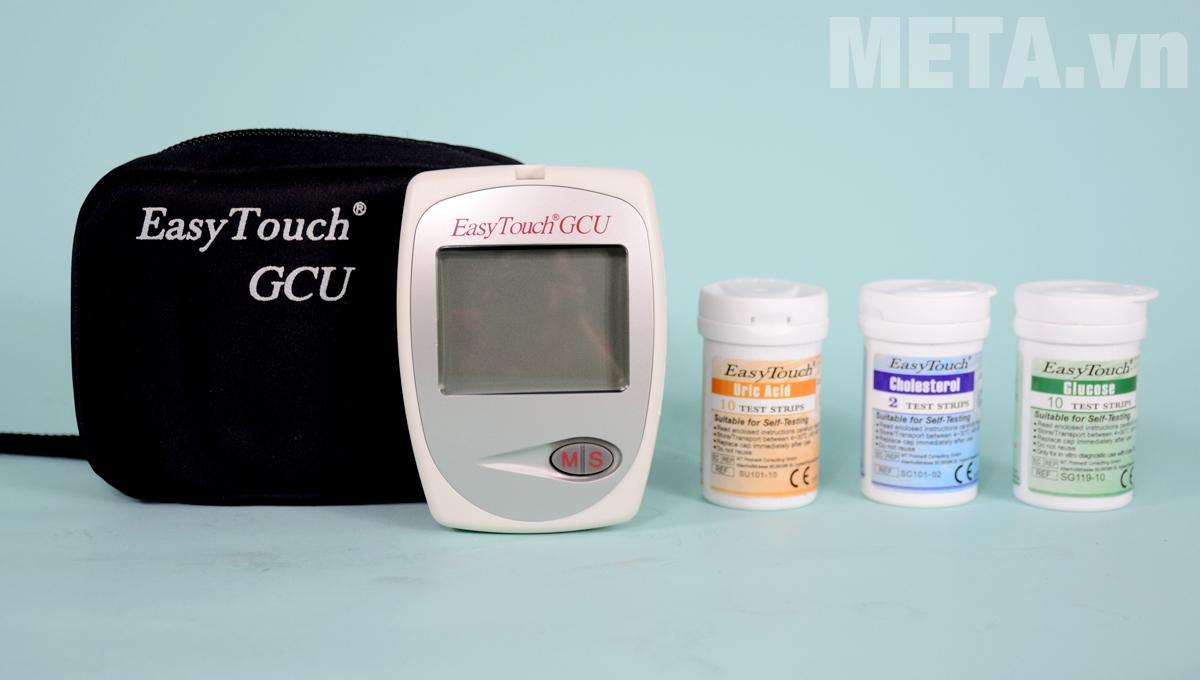 Hình ảnh bộ sản phẩm máy đo tổng hợp Rossmax Easy Touch GCU ET322