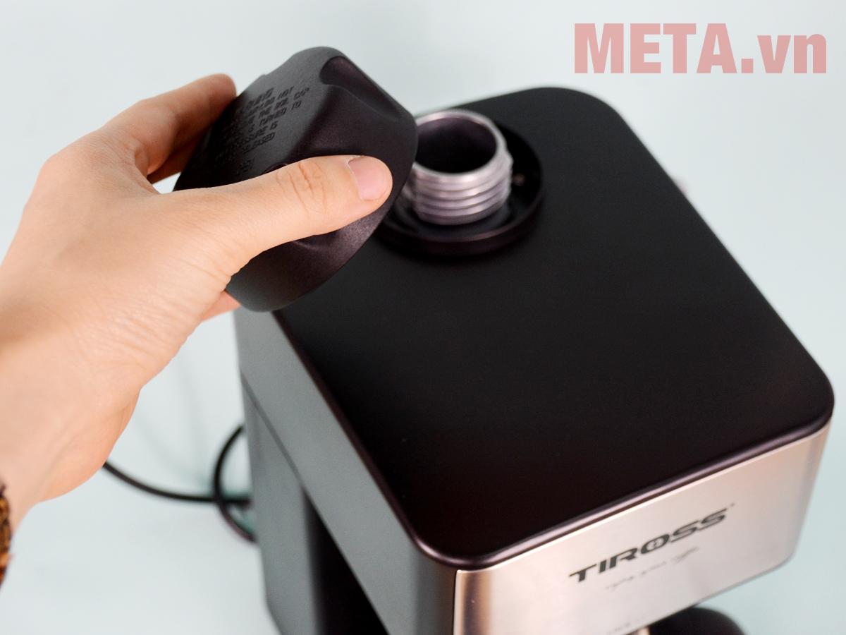 Nắp đậy máy pha cà phê Espresso Tiross TS621