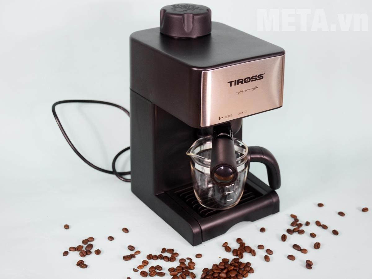 Hình ảnh máy pha cà phê Espresso Tiross TS621