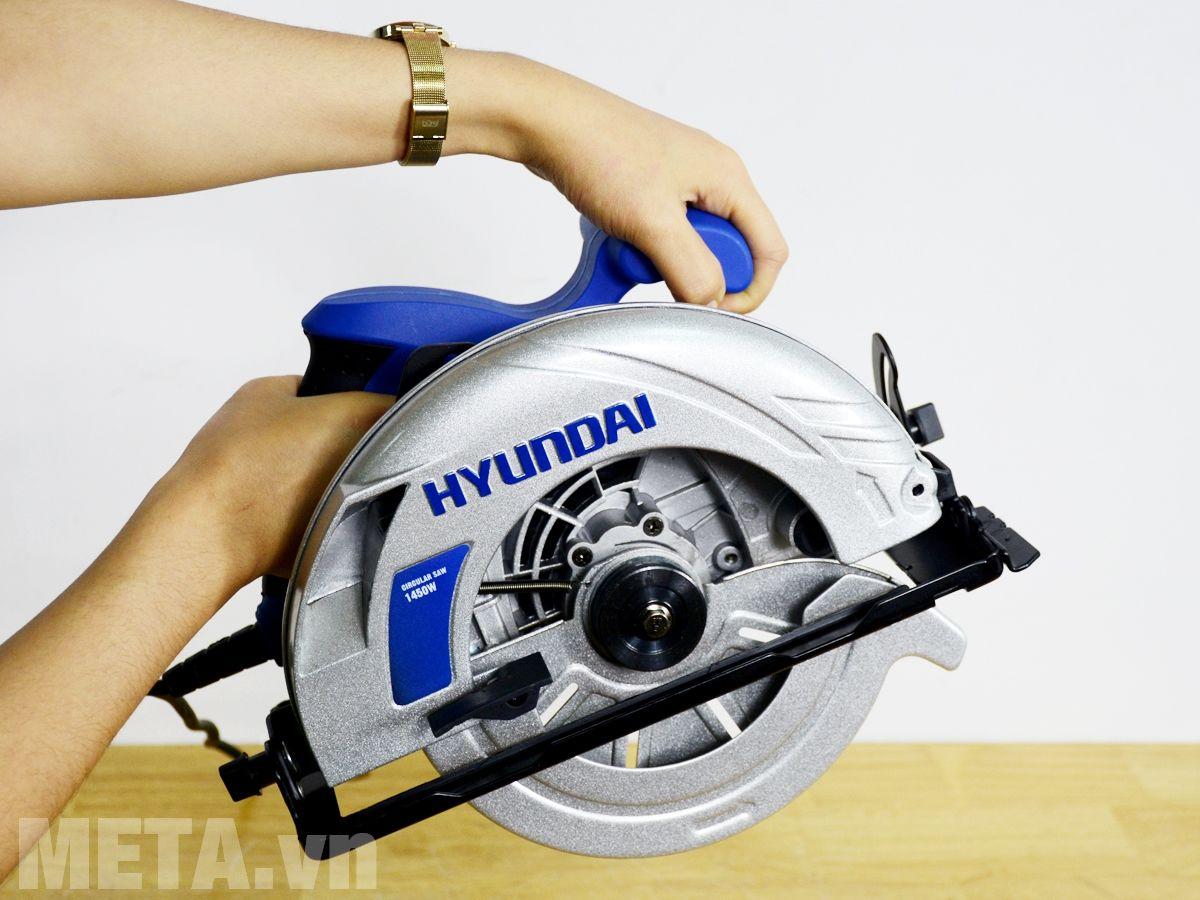 Máy cưa đĩa Hyundai HCD186 nhỏ gọn, dễ thao tác