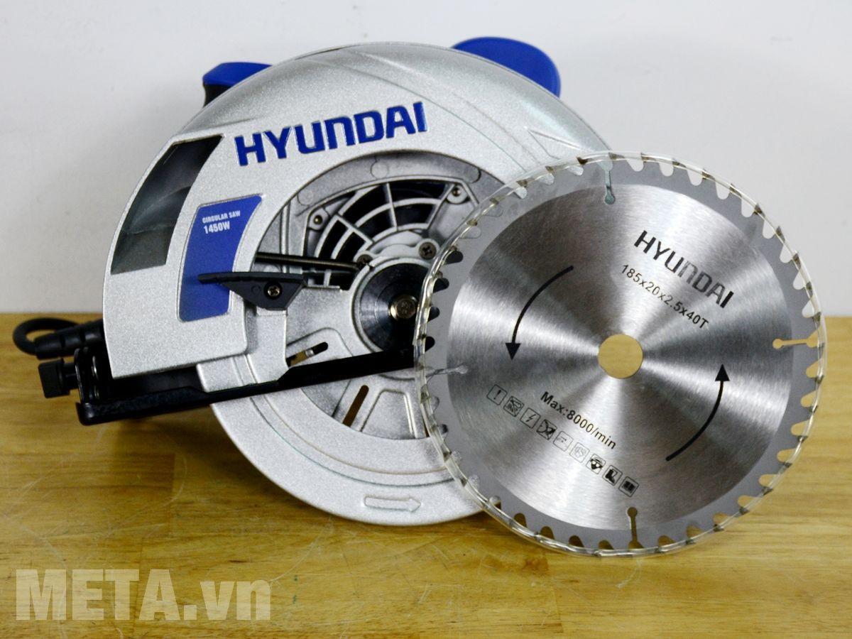 Hình ảnh máy cưa đĩa Hyundai HCD186