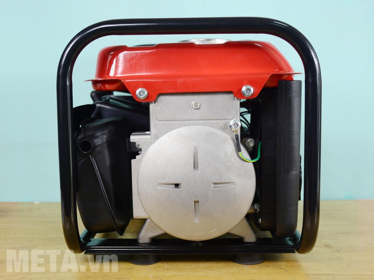 Máy phát điện chạy xăng Bgas thiết kế chắc chắn
