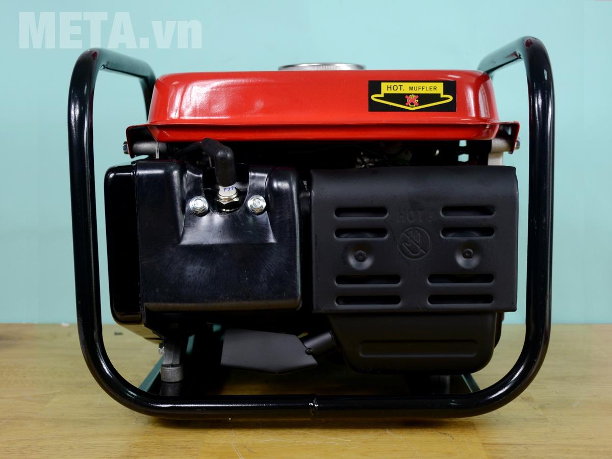 Máy phát điện chạy xăng Bgas BGA950C 0.8KVA hoạt động với công suất 1.000W