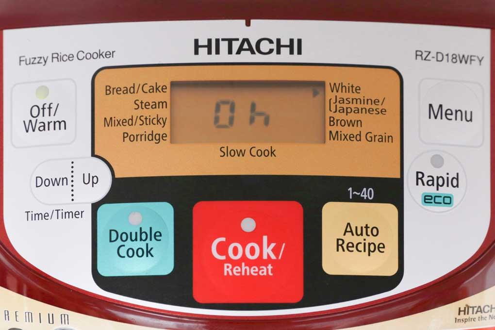 Nồi cơm điện tử Hitachi