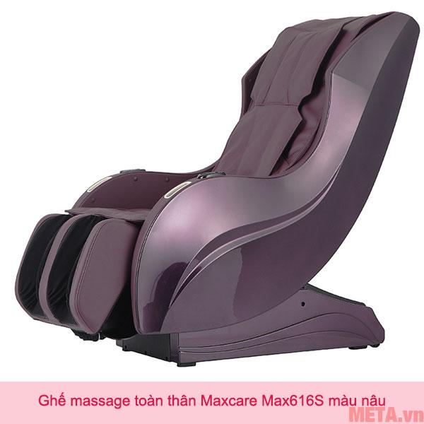 Ghế massage toàn thân Maxcare Max616S màu nâu