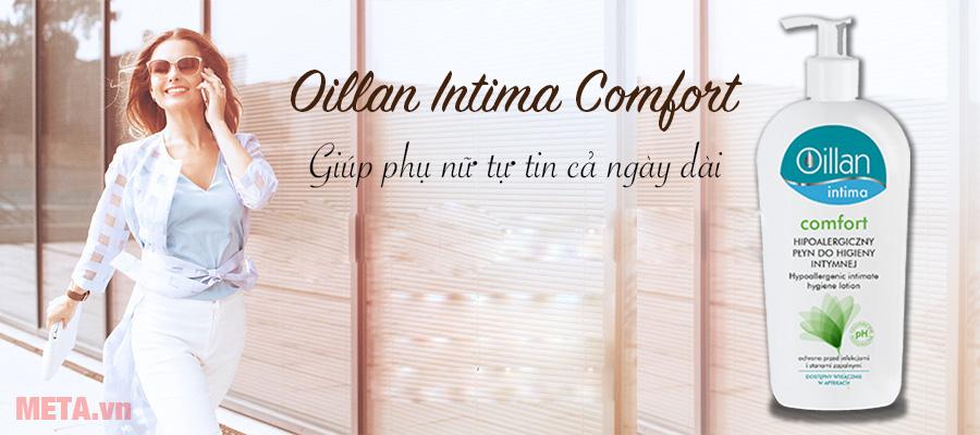 Dung dịch vệ sinh phụ nữ hàng ngày Oillan Intima Comfort (400ml)