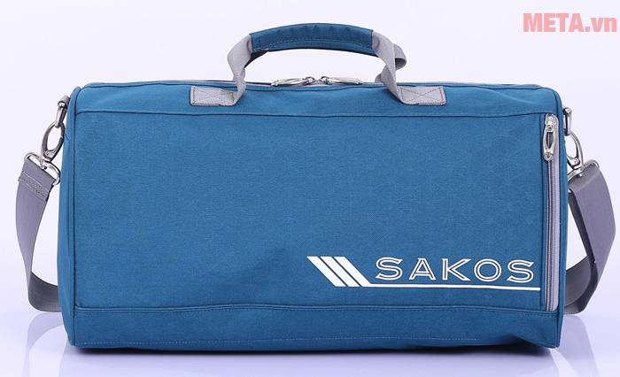 Túi du lịch màu xanh dương