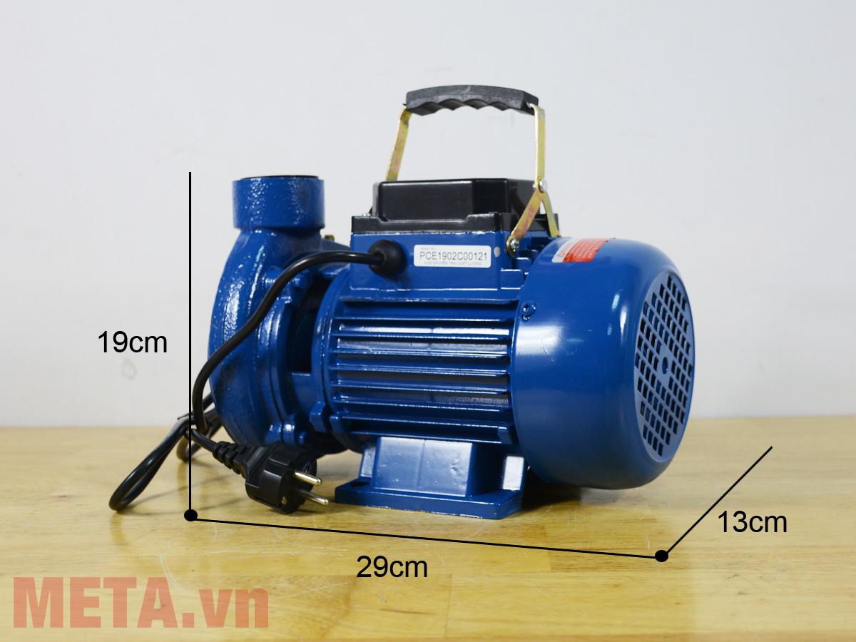 Kích thước máy bơm nước