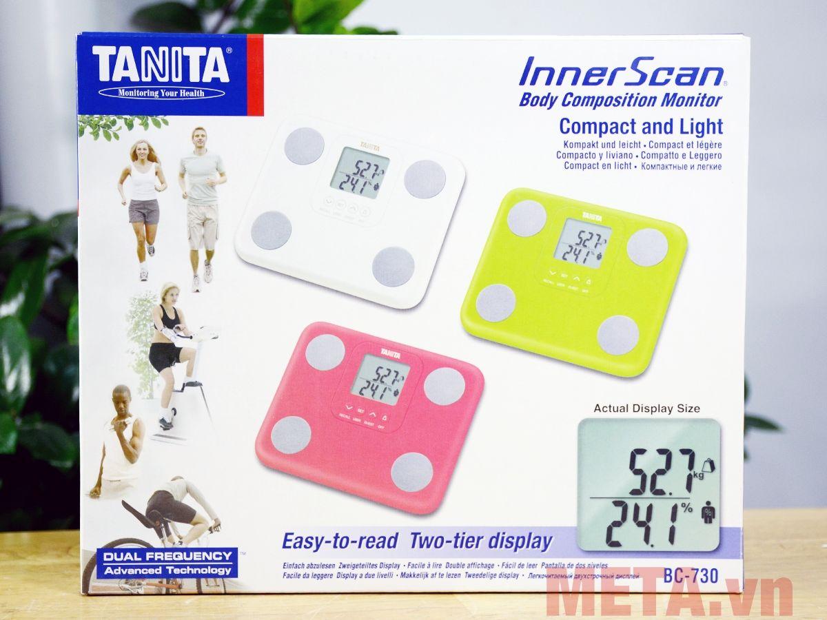 Bao bì cân sức khỏe điện tử Tanita BC-730