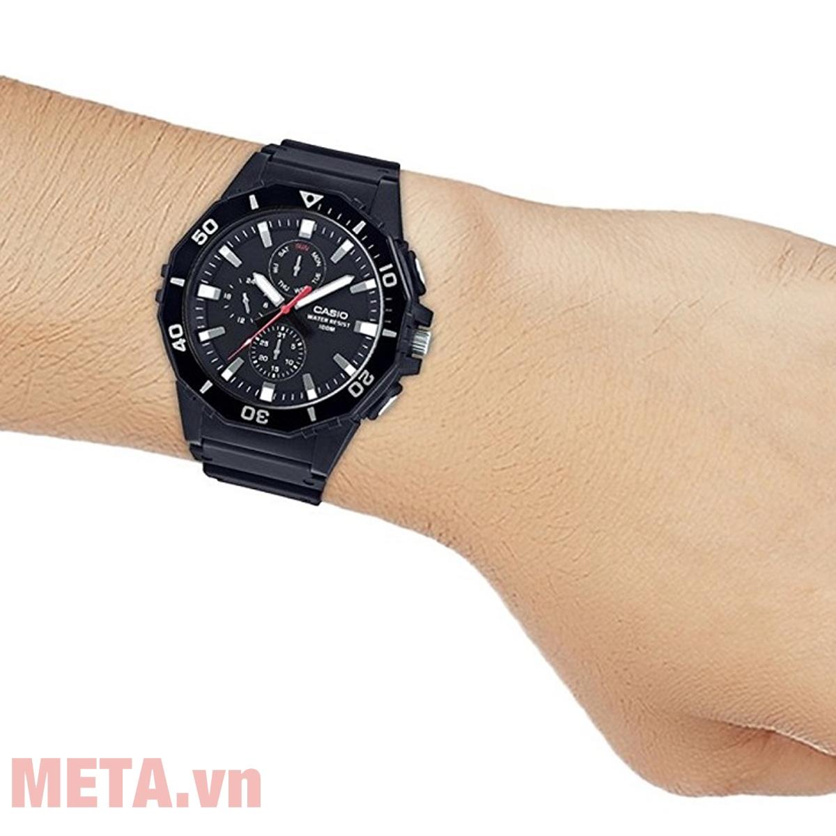 Đồng hồ Casio MRW-400H-9AVDF thời trang, năng động