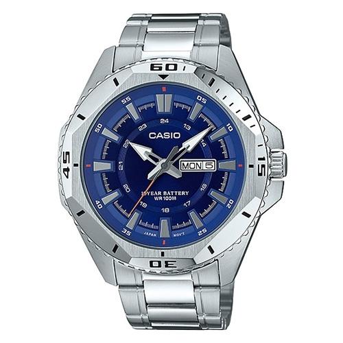 Đồng hồ nam dây thép Casio STANDARD MTD-1085D-2AVDF