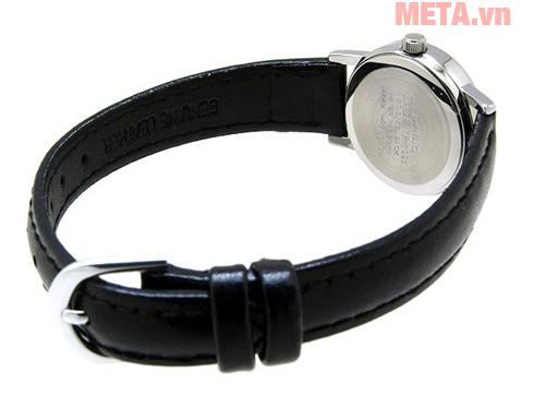 Đồng hồ nữ dây da Casio LTP-1095E-7ADF (25mm) - Đen