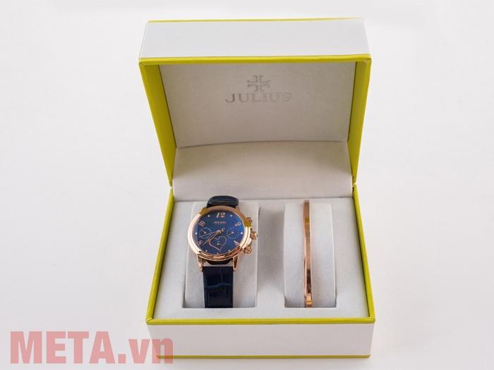 Hộp đựng đồng hồ nữ Julius JA-844 (chưa đi kèm lắc tay)