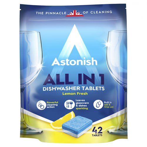 Viên rửa chén bát all in 1 Astonish