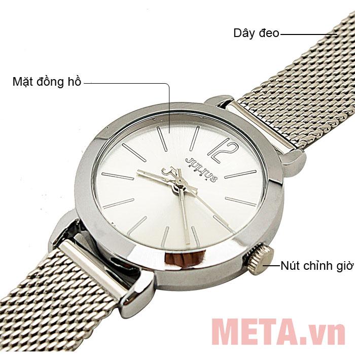 Cấu tạo đồng hồ Julius JA-732