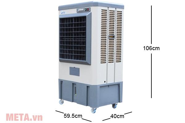 Kích thước máy làm mát gia đình Air Cooler FujiE AC-40B