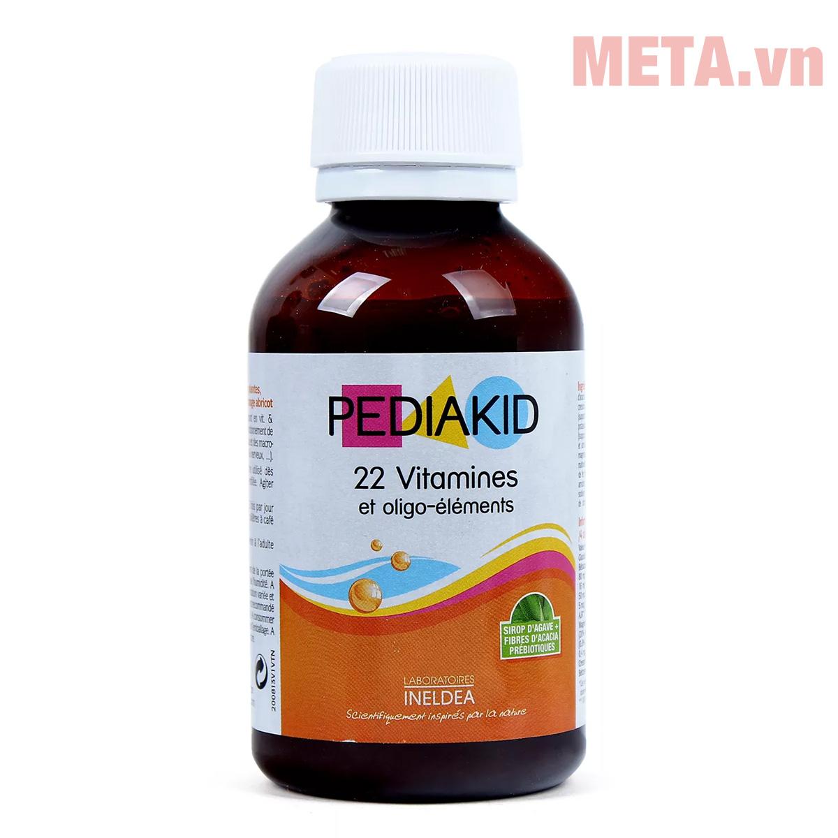 Pediakid 22 Vitamin Et Oligo Éléments