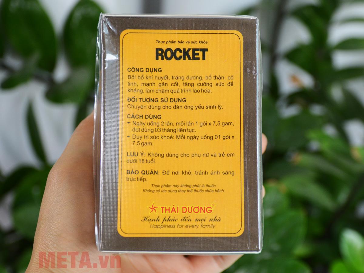 Công dụng và đối tượng sử dụng Rocket
