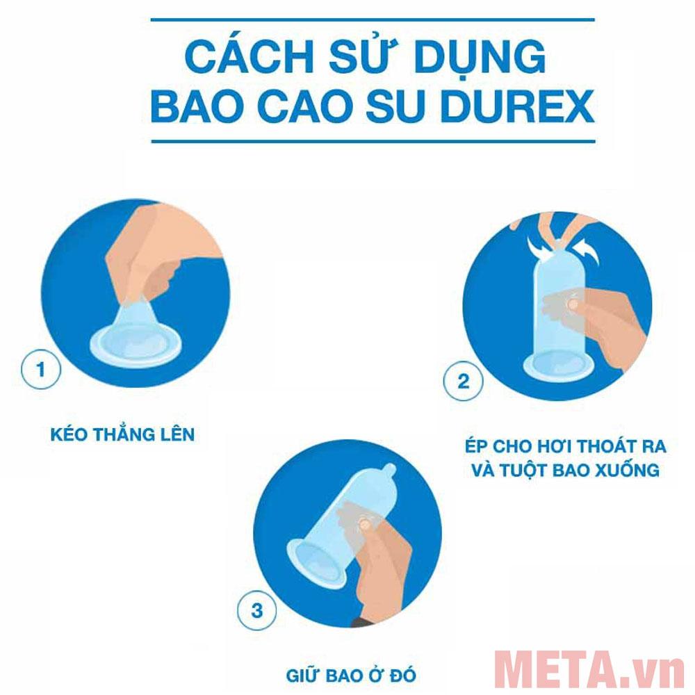 Cách sử dụng bao cao su đúng cách