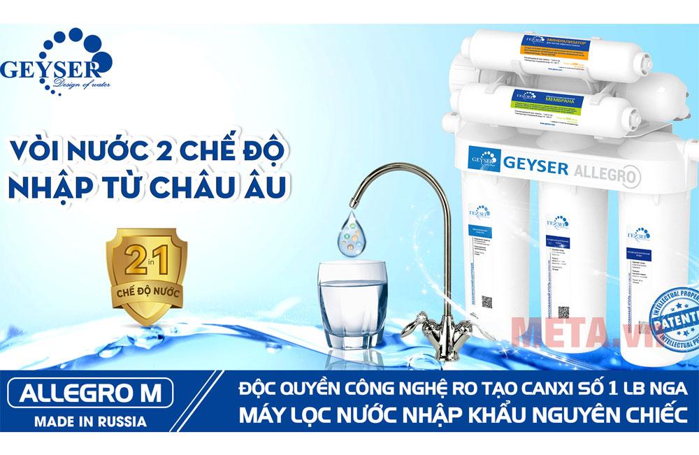 Bạn có thể uống nước ngay sau khi lọc với máy