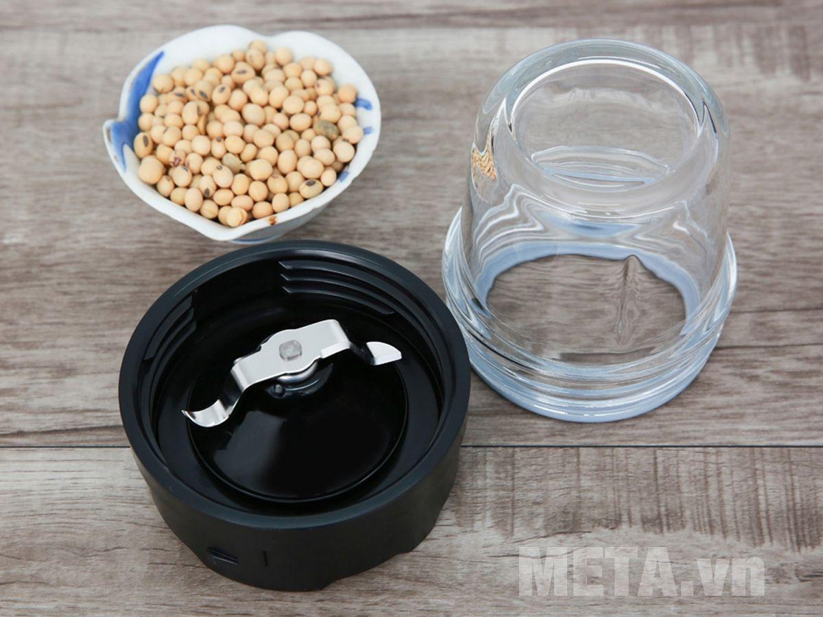 Cối xay ngũ cốc với lưỡi dao inox