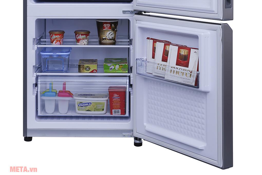 Tủ lạnh thiết kế ngăn đá rộng rãi