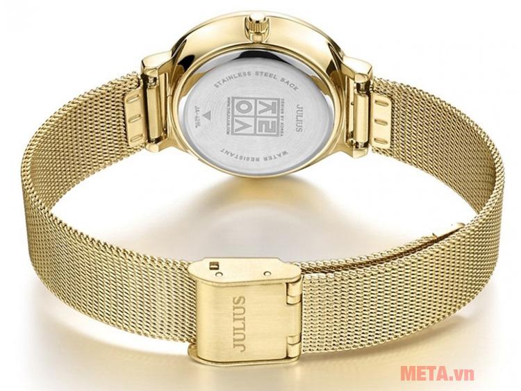 Đồng hồ nữ dây thép không gỉ