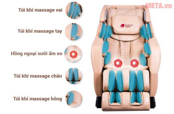 Ghế massage Buheung